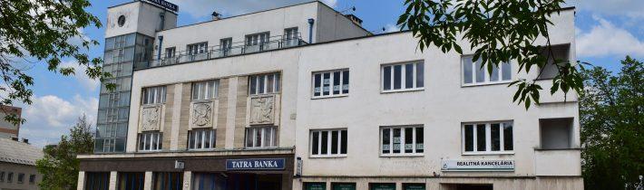 Budova Tatrabanky v Považskej Bystrici