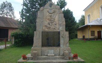 Pomník obetiam 1. a 2.svetovej vojny v Lysej pod Makytou