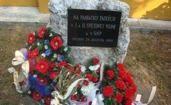 Pomník padlým v 1. a 2.svetovej vojne v Púchove